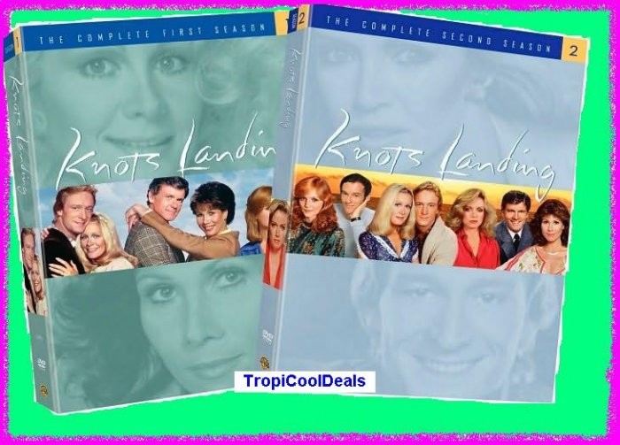 KNOTS LANDING SEASONS 1 & 2 1ST AND 2ND >>NEW/SEALED