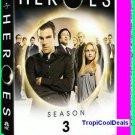 Heroes Season 3 Three 3rd Third New/Sealed