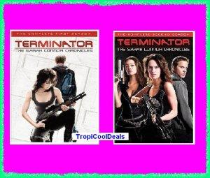 Terminator Sarah Connor Chronicles Seasons 1 & 2 New/Sealed