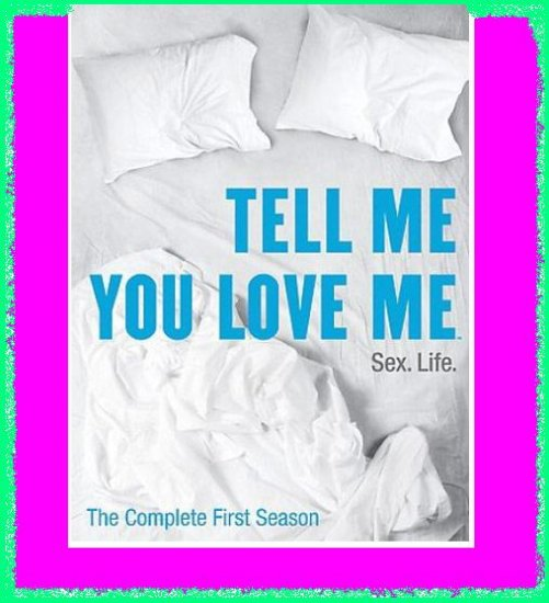 Tell Me You Love Me Season 1 One 1st First New/Sealed