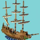 Large Collectible Poly Resin Pirate Ship - Perfect for your Favorite little Pirate's Den!