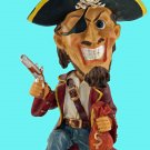 Collectible Pirate Bobble Head -The Perfect Gift for Anyone who Loves Pirates! Arrrgh
