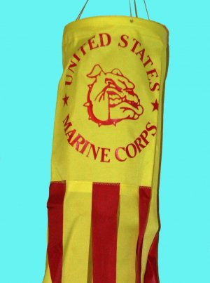 U.S. Marine Corps Military Flag Sock / Windsock 36� � Support Our Troops!