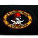 3x5 Large Pirate Republic Flag