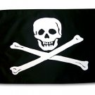 12x18 Classic Jolly Roger Pirate Flag!