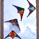 4 piece Mini Window Stunt Kite Set - Great window decor for kite enthusiasts!