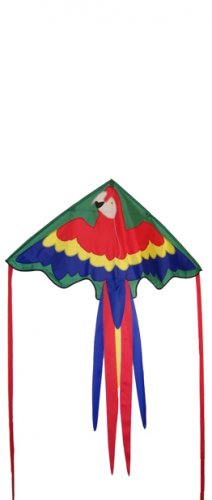 Parrot Fly-Hi KITE - Single Line - Kite, Line, and Handles INCLUDED!