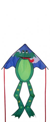 Frog Fly-Hi KITE - Single Line - Kite, Line, and Handles INCLUDED!
