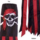 Calico Jack / Jolly Roger Pirate Windsock Black Flag Collection 40""