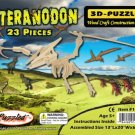PTERANODON DINOSAUR 3D Wooden PUZZLE - Challenging, Educational and Creative Woodcraft Model Puzzle