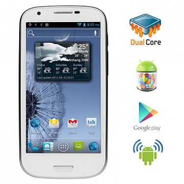Triton - Android 4.1 Dual Core CPU Smartphone with 4.6 Inch Capacitive Touchscreen