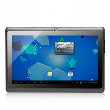 Starlight Blue - Android 4.0 Tablet with 7 Inch Capacitive Screen (4GB,WiFi, 1.5GHz, 3G, Camera)