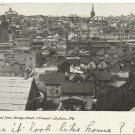 View of Dubois PA c. 1906 Postcard