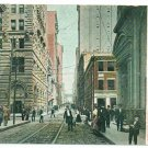 4th Avenue Street Scene Pittsburgh PA c. 1908 Postcard