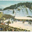 Olympic Skiing Stadium Garmisch Germany Postcard