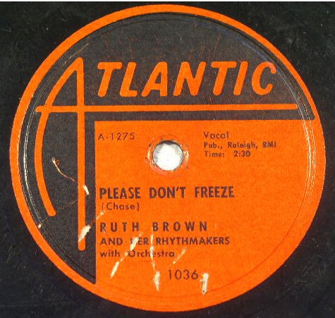 Ruth Brown - Please Don't Freeze / Oh What A Dream 78rpm