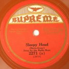 Radio Boys - Sleepy Head / Francis Herold - Road To Loveland 78rpm