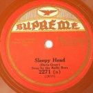 Radio Boys - Sleepy Head / Francis Herold - Road To Loveland 78rpm