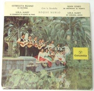 Estrellita Ruano La Saltona - Lola Mary - Spain 45rpm EP