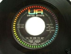 Marv Johnson - Ain't Gonna Be That Way - UA 226 45rpm
