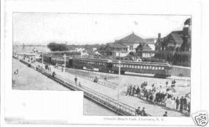 Ontario Beach Park Charlotte NY c.1905 Postcard