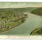 Allegany River, Oil City PA c.1907 Postcard