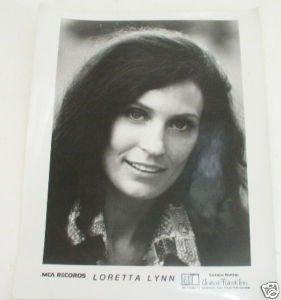 Vintage Loretta Lynn Publicity Photo