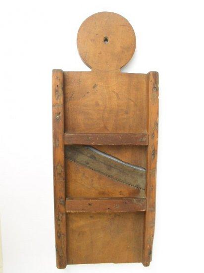 Antique Primative Wood Mandolin Slicer Kitchen Decor