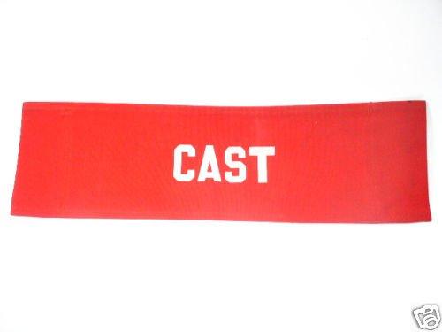Plain Red CAST Production Chair Back