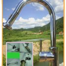One handle kitchen faucet with pulldown spout