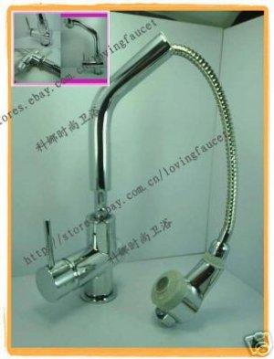 K011 Faucet - kitchen pull put faucet start bidding at $49.99