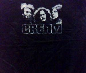 Cream band Punk rock music retro concert gift T-shirt Vintage Style