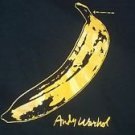 Andy Warhol Banana Retro Vintage Style Best GIFT T-SHIRT Black