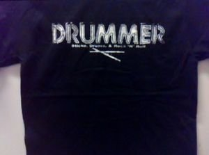 Drummer  Punk rock music  Concert the best gift  T-shirt
