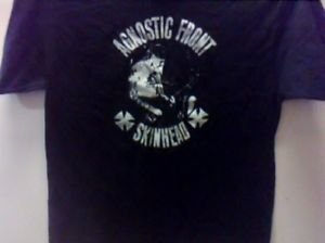Agnostic front band punk Rock music Retro Best GIFT T-SHIRT