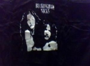 Buckingham Nicks punk rock music vintage retro style  cool hooded sweatshirt