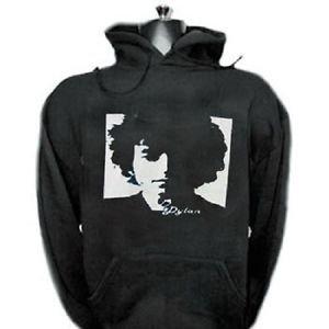Bob Dylan punk rock music vintage retro style  cool hooded sweatshirt