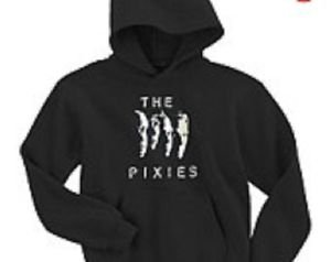 The Pixies band punk rock music vintage retro style  cool hooded sweatshirt