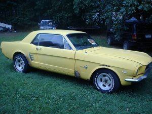 1966 Ford Mustang....Pony Edition