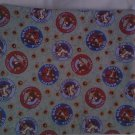 HANDMADE LARGE MICROWAVE POTATO BAG WITH COUNTRY COWS AND SUNFLOWERS PRINT COTTON FABRIC