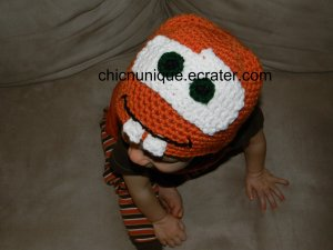Adorable!! Disney Cars Tow-Mater Crochet Hat *Any Size Available*