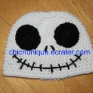 Nightmare Before Christmas, Jack Skellington Crochet Hat *Any Size Available*