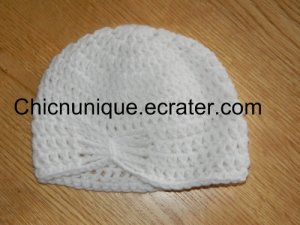 Adorable Chic Butterfly Crochet Boutique Hat *Any Size Available*