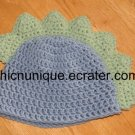*Adorable Dino Dinosaur Spike Beanie Cap Hat *Any Size Available*
