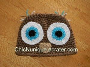 ��� Owl Hoo Custom Crochet Hat *Any Size Available* ���