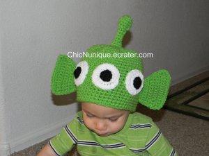 ��� Toy Story Alien Custom Crochet Hat *Any Size Available* ���