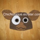 Handmade Crochet Custom Gremlin Gizmo Hat ***Any Size***