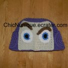 •◘• Toy Story Buzz Lightyear Custom Adult Crochet Hat  •◘•