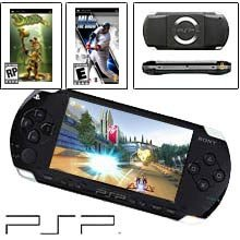 Sony PSP Action Bundle (Handheld, Two Games)