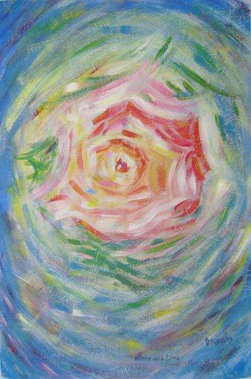 Redblue Rose